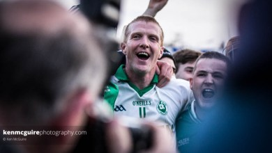 Henry Shefflin celebrates another county title with Ballyhale Shamrocks. Photo: Ken McGuire/kenmcguirephotography.com