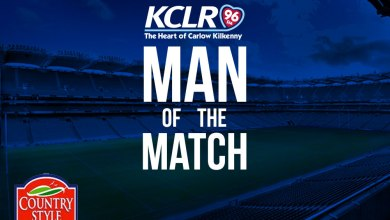 KCLR Man Of The Match competition with thanks to Countrystyle Foods