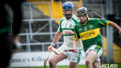 Glenmore and Kilmacow contested the 2015 Junior Hurling Championship Final in Nowlan Park on Sunday 25 October 2015. Photo: Ken McGuire/KCLR