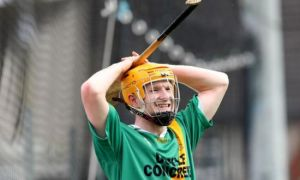 Richie Power in action for Carrickshock
