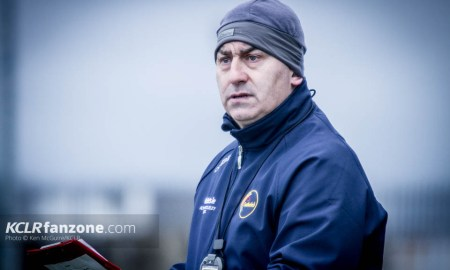 Carlow senior football manager Turlough O'Brien. Photo: Ken McGuire/KCLR