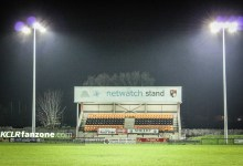 Carlow Rugby Club under lights. Pic - Stephen Byrne/KCLR