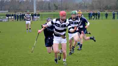St Kierans in action against Dublin North Credit: stkieranscollege.ie
