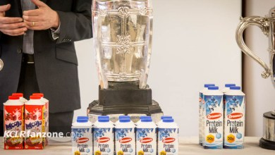 The Liam McCarthy Cup pictured in Nowlan Park at the launch of an extended partnership with Glanbia, Friday 5 February 2016. Photo: Ken McGuire/KCLR