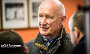 Kilkenny senior hurling manager Brian Cody speaks to media at the launch of the 2016 hurling season at Nowlan Park on 5 February 2016. PhotoL: Ken McGuire/KCLR