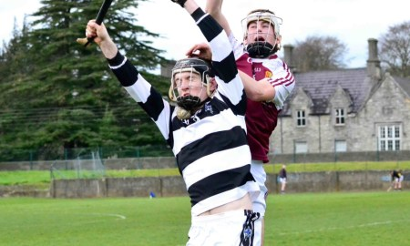 St Kierans in action against Our Lady's, Templemore in the 2016 Semi Final. Credit: www.stkieranscollege.ie