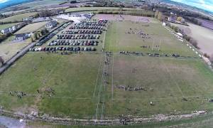 Tullow's hallowed rugby ground from above. Photo: Alan Joyce