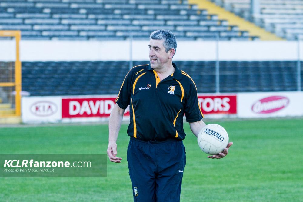 Kilkenny football manager Christy Walsh. Photo: Ken McGuire/KCLR