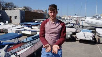 Irish Olympic sailor Finn Lynch. Photo: nyc.ieIrish Olympic sailor Finn Lynch. Photo: nyc.ie