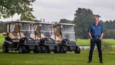 Irish golf Paul McGinley pictured at Mount Juliet, Kilkenny ©INPHO/Morgan Treacy