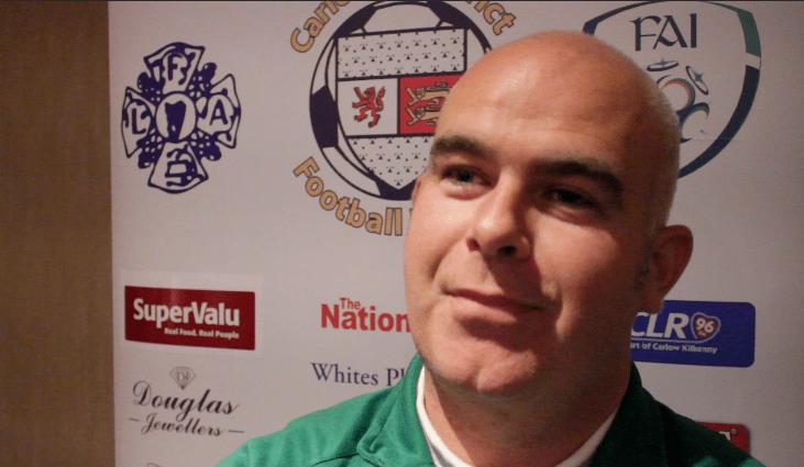 Patrick Brennan Crettyard United. Pic: KCLR