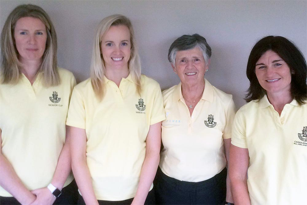 Kilkenny ladies golf team. Photo: EGA-Golf.ch
