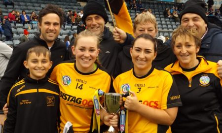 The Quirkes Myshall Camogie. Credit: Tommy Murphy
