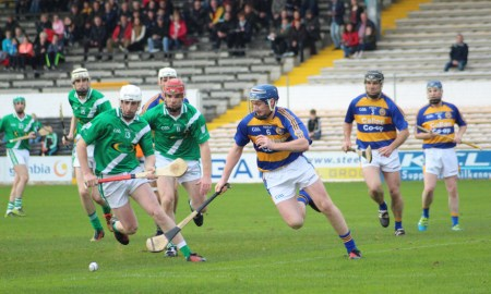 Mooncoin v John Lockes at Nowlan Park. Photo: Martin Rowe/kilkennygaa.ie