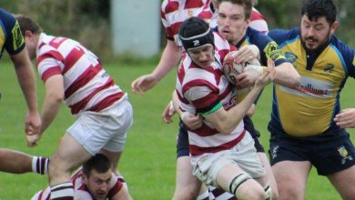 Tullow RFC pictured in action against Clondalkin. Photo: John Tobin/Tullow RFC