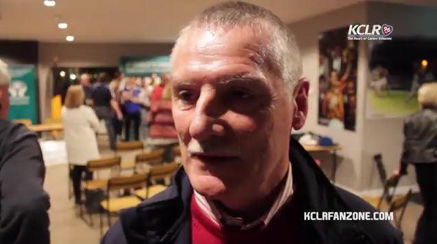 O'Loughlin Gaels manager Aidan Fogarty
