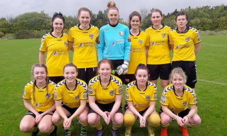 Kilkenny United v Cork in the Women's National League. Photo: @kilkennywfc/Twitter