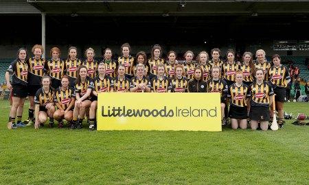 Kilkenny camogie team. The Cork team. Photo: ©INPHO/Donall Farmer