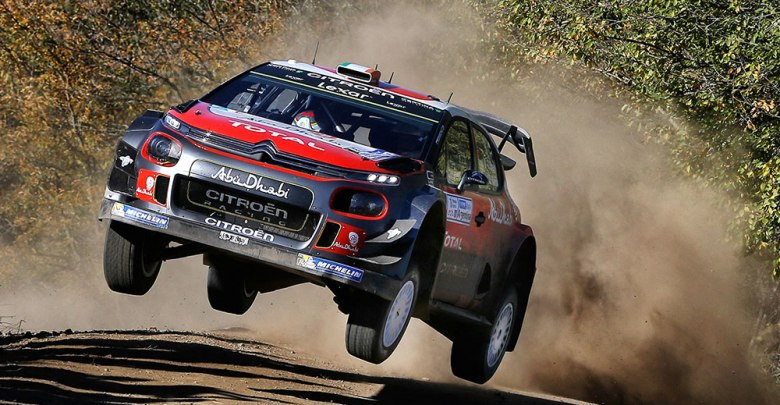 Craig Breen at Rally Argentina. Photo: Jamie Kent/Craig Breen