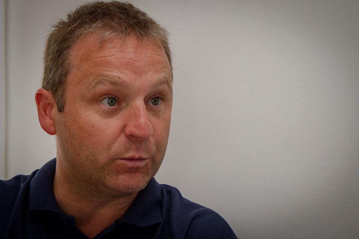 Marble City Hawks coach Julian O'Keeffe. Photo: Ken McGuire/KCLR