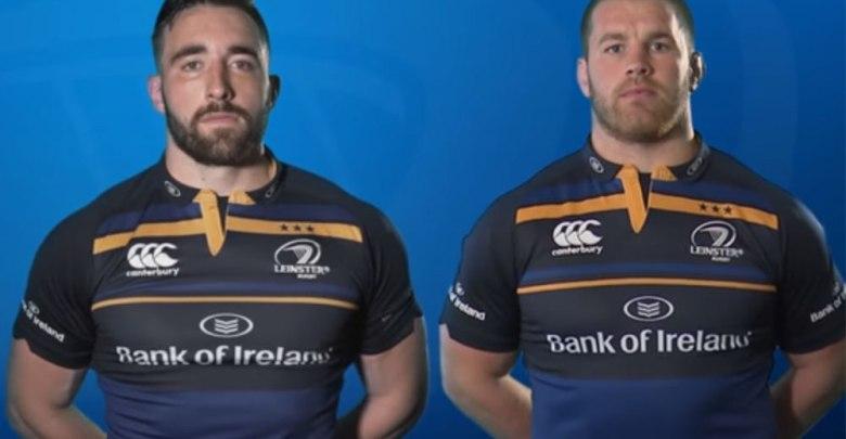 Leinster's Jack Conan and Sean O'Brien (right). Screenshot: YouTube