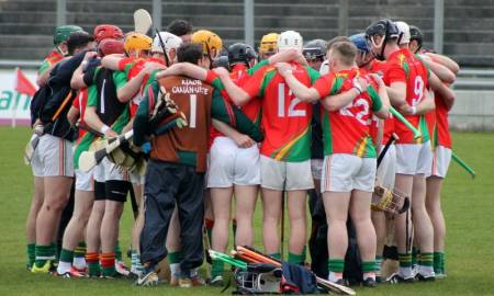 Carlow Hurlers - Photo: Anne Lawlor