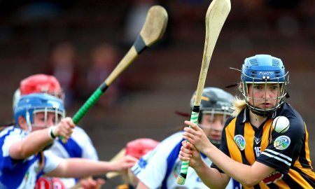 Kilkenny's Michelle Quilty gets a shot away Mandatory Credit ©INPHO/James Crombie