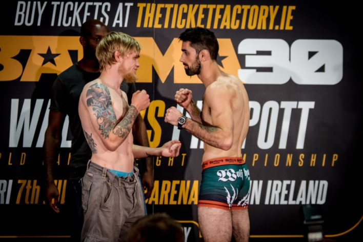 Decky Daton (left) and Mick Brennan (right). Photo: Ken McGuire/KCLR