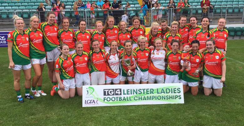 Carlow ladies football team. Photo: Carlow Ladies GAA/Facebook