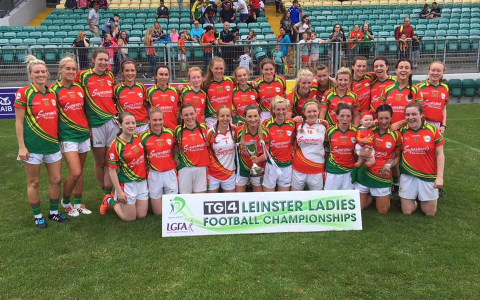 Carlow ladies football team. Photo: Carlow Ladies GAA/Facebook