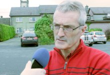 Carlow senior hurling manager Colm Bonnar. File photo/KCLR