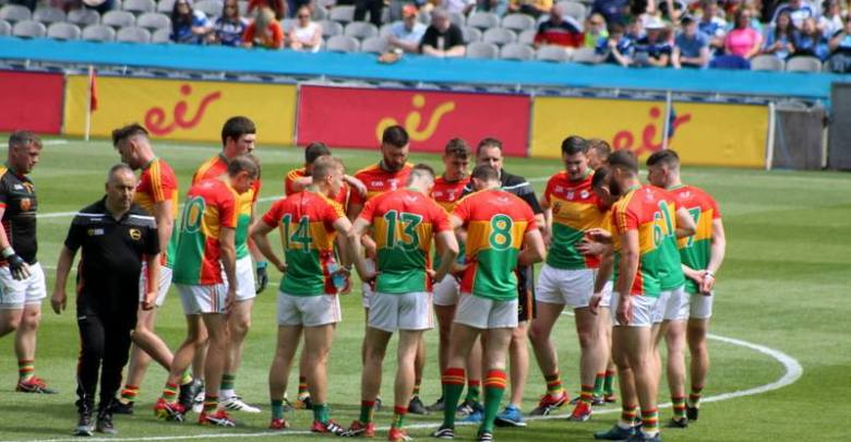 Carlow Senior Footballers - Photo: Anne Lawlor