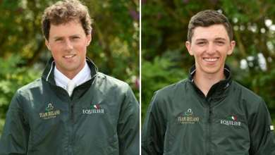 Sam Watson (left) and Cathal Daniels (right). Photo: Horse Sport PR