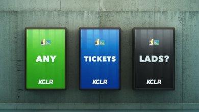 Ticket information for Kilkenny and Limerick
