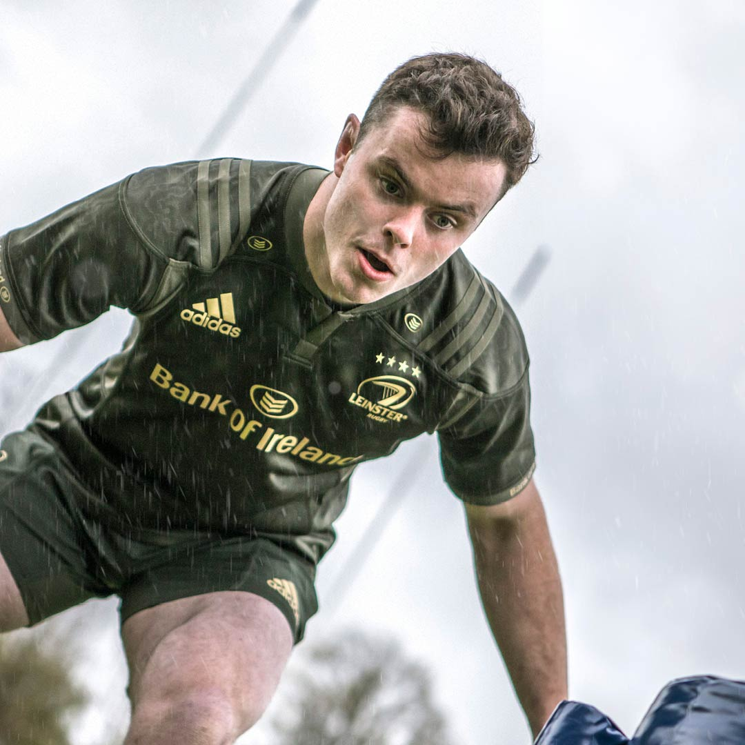 James Ryan in the Leinster Rugby alternate jersey