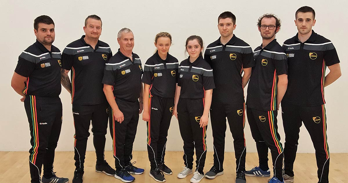 Carlow players heading for the World Handball Championships