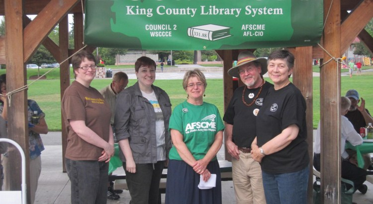 Members at a Local 1857 Annual Picnic