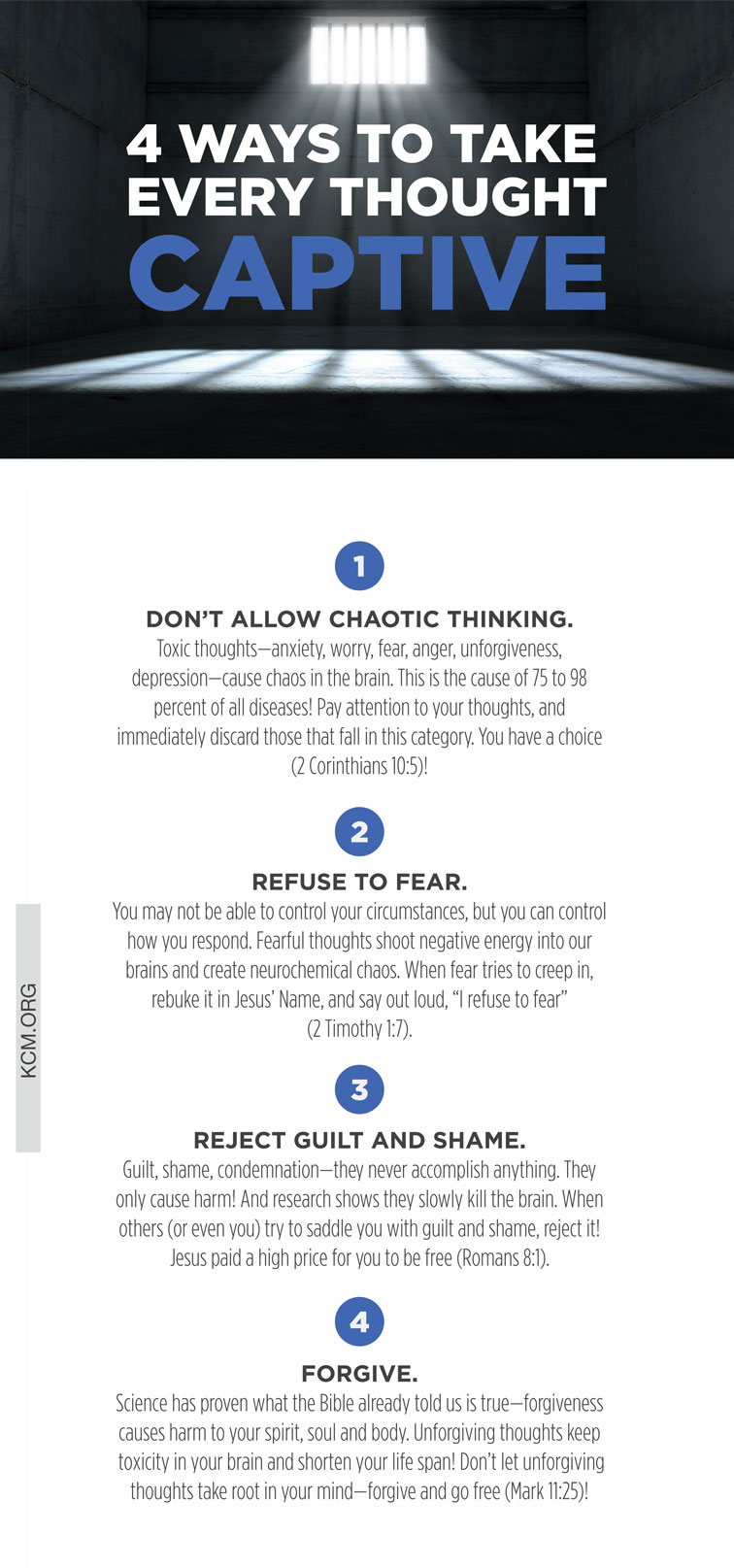 4 Ways to Take Every Thought Captive