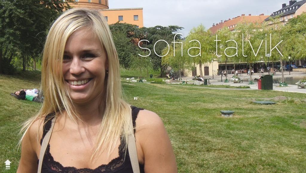 Sofia Talvik interview