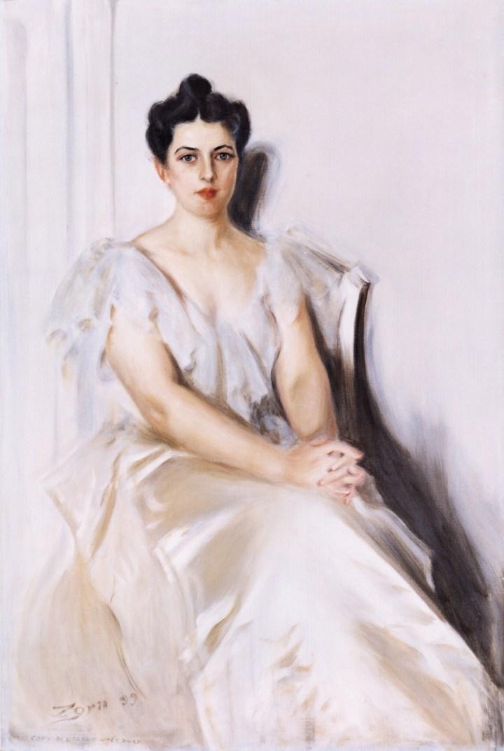 First Lady Frances Cleveland White House Portrait