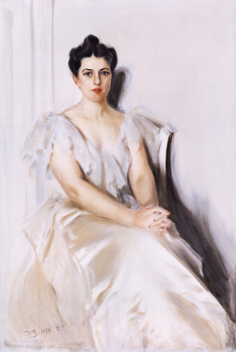 First Lady Frances Cleveland White House Portrait