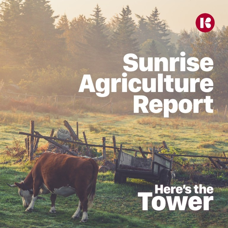 Here's the Tower Sunrise Agriculture Report