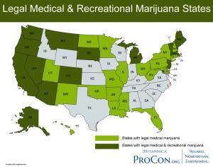 legal marijuana states 2020