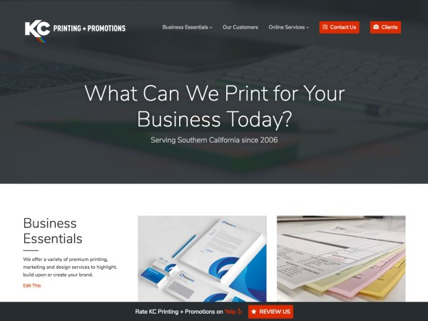 aad0d344 What Can We Print for Your Business Today? - KC Printing + Promotions