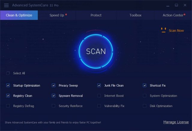 Advanced SystemCare Pro Full Version Cracked