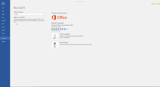 Microsoft Office Professional Plus 2016 Crack Activator