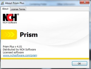 NCH Prism Plus Crack
