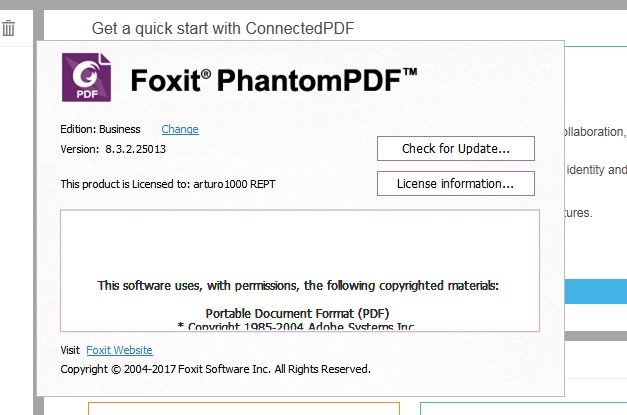 Foxit PhantomPDF Business Crack Patch