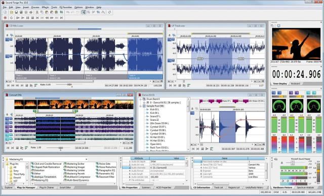MAGIX Sound Forge Pro Full Crack