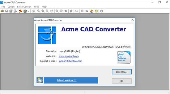 Acme CAD Converter Crack Serial Key